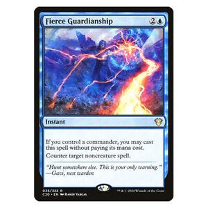 Fierce Guardianship - NM/M - Commander 2020 - MTG