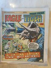 EAGLE & TIGER -  DAN DARE NO. 180 31 AUGUST 1985