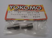 New Yokomo ZS-542T Front One-Way Drive Cups MR-4 TC Spare Part New Old Stock