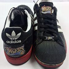 Adidas Superstar 1 NBA Series Black Leather Philadelphia 76ers Sz 11