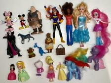 Doll Figure Lot-Disney Polly-Sofia-Moana-Mickey-My Little Pony-Bat Girl-Peppa