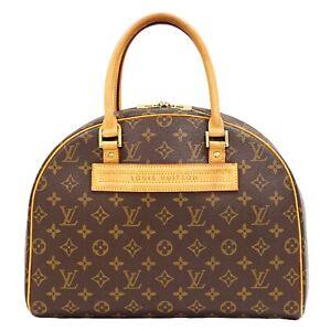 Louis Vuitton Nolita M50204 Monogram Bowler Hand Bag Purse Special Order LV