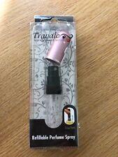 Travalo Refillable  Perfume Spray Pink BNIB