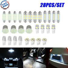 28X LED Interior Package Kit For T10 31mm Map LED DOME LIGHT Plate LED LIGHTS