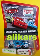 O - BUMPER SAVE #90 Rubber Tires Mattel Disney Pixar Cars 1:55 Diecast Vehicle