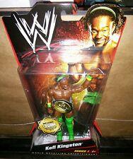 WWE Mattel Series 1 Kofi Kingston 1 of 1000 Wrestling Figure w/ gold belt #726
