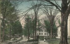 West Lebanon NH Maple St. c1910 Postcard