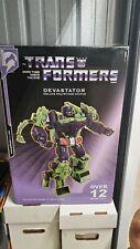 "Transformers Palisades Toys Devastator Statue 12"" Polystone Resin Deluxe 2005"