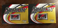 (2) Dozen 2020 New Srixon Z-Star Golf Balls