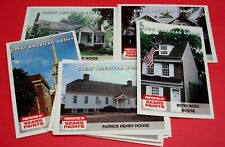~RARE~ Sears Roebuck & Co 1994/1995 GREAT AMERICAN HOMES 15 Card Complete Set