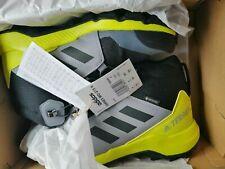 Adidas Terrex Mid Gore-Tex Outdoor Hiking Shoes Grey/Yellow Size UK 4 Women
