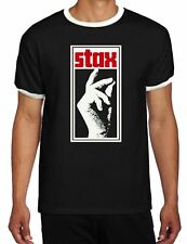 Stax Records Contrast Ringer T Shirt - Northern Soul