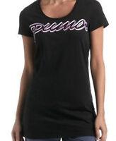 € 24,99 PUMA Damen Longshirt Long T Shirt Oberteil schwarz XS 34 NEU