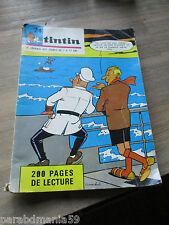 Vente Hergé-Tintin- Rare reliure numéro 24-1966-Complet de ses points Tintin
