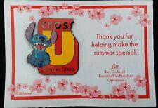 Disney Wdw Summer 2002 Cast Cross-U Stitch Pin