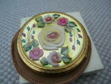 New listingKigu Vintage Florale powder compact Stunning condition with box