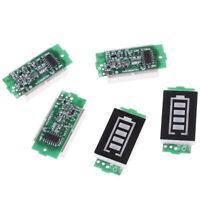 1S 2S 3S 4S 6S Testeur de charge de batterie du module d'indicateur de capacITR