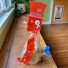 Vintage 1977 Ideal Mr. Machine Gear Robot Wind-up Walking Toy Working