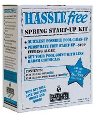 Natural Chemistry Hassle Start Up Kit Spring Swimming Pool Opening To 20K