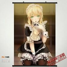 Fate/Zero/Stay night Saber Series Home Decor Poster Wall Scroll 60*90CM F4-195