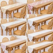 Table Runners Xmas Placemat Floral Holiday Kitchen Kitchen Linen & Textiles