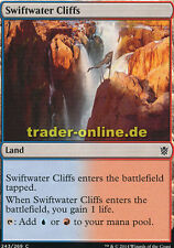 2x Swiftwater Cliffs (Sturzbachklippen) Khans of Tarkir Magic