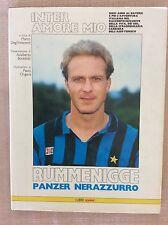 INTER F.C. INTERNAZIONALE CALCIO LIBRO KALLE RUMMENIGGE PANZER NERAZZURRO