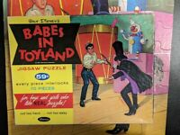 Walt Disney Babes In Toyland Puzzle 70 Pcs Whitman - 1961 - 100% Complete