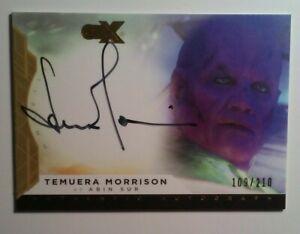 DC CZX Autograph card TEMUERA MORRISON as ABIN SUR Boba FETT The MANDALORIAN