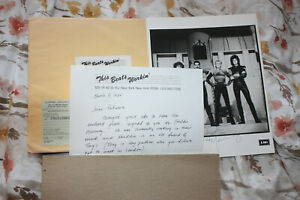 RARE Queen Photo Signed by Freddie Mercury with provenance.