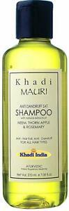 Khadi Mauri Herbals Anti Dandruff Herbal Shampoo, 210 ml