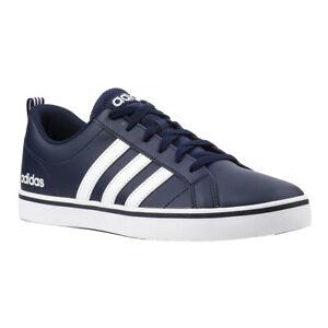 Adidas Herren Sneaker VS Pace B74493 Turnschuhe Blau Weiß SALE Skateboarding