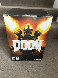 NEW SEALED Doom 2016 Collector's Edition PC