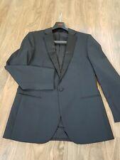BOSS Slim-Fit Anzug aus Schurwolle mit Seiden-Details Gr. 46 Neuwertig