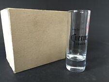 6x José Cuervo Tequila Shot in Vetro 2cl/4cl vetro di liquore decorazione bar nuovo OVP BICCHIERI