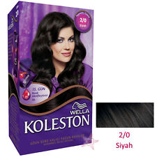 WELLA KOLESTON HAIR COLOR KIT - INTENSE CREAM KIT COLLECTION - 35 COLOURS