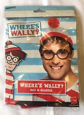 SMIFFY'S WHERE'S WALLY HAT AND GLASSES