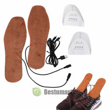 USB Charging Electric Heated Insoles Shoe Pad Shoes Boots Heater Keep Feet Warm
