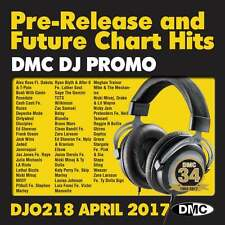 DMC DJ Only 218 Promo Chart Music Disc for DJ's Double CD Radio Edit & Remixes