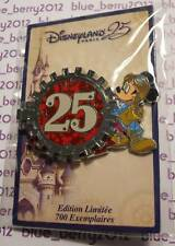 Disney land Paris Pin Mickey Countdown 25 th anniversary 25eme anniversaire ans