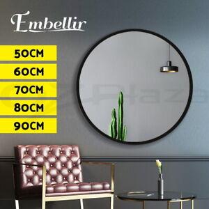 Embellir Round Wall Mirror Bathroom Makeup Mirror 50/60/70/80/90CM Vanity Shape