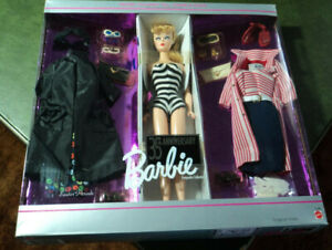 1993 BARBIE REPRODUCTION 35TH ANNIVERSARY BLONDE GIFT SET #11591 NRFB!