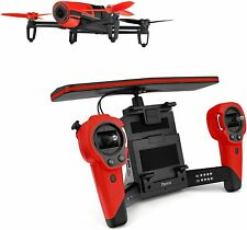 Parrot Bebop + Skycontroller Quadrokopter Kameradrohne Drone OVP Rot OHNE AKKUS