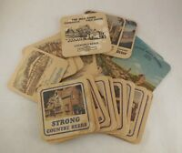 20 Vintage beermats coasters strong country beers worthington john smith