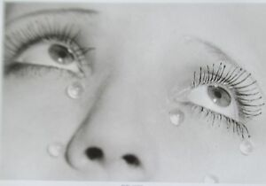 Man Ray LES LARMES Poster Photogravure Unsigned 14x11 Woman's Tears