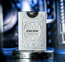 More details for star wars playing cards white light side silver special edition by theory 11 ...