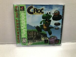 Croc: Legend of the Gobbos (PlayStation 1) Complete w/ Manual - Tested Working