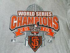 San Francisco Giants World Series Champions 2010 Tee Shirt Adult Size L