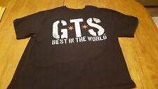 WWE WWF CM Punk GTS Best In The World Wrestling T-Shirt, Size 3XL Black