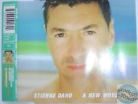 ETIENNE DAHO A NEW WORLD UK MAXI CD
